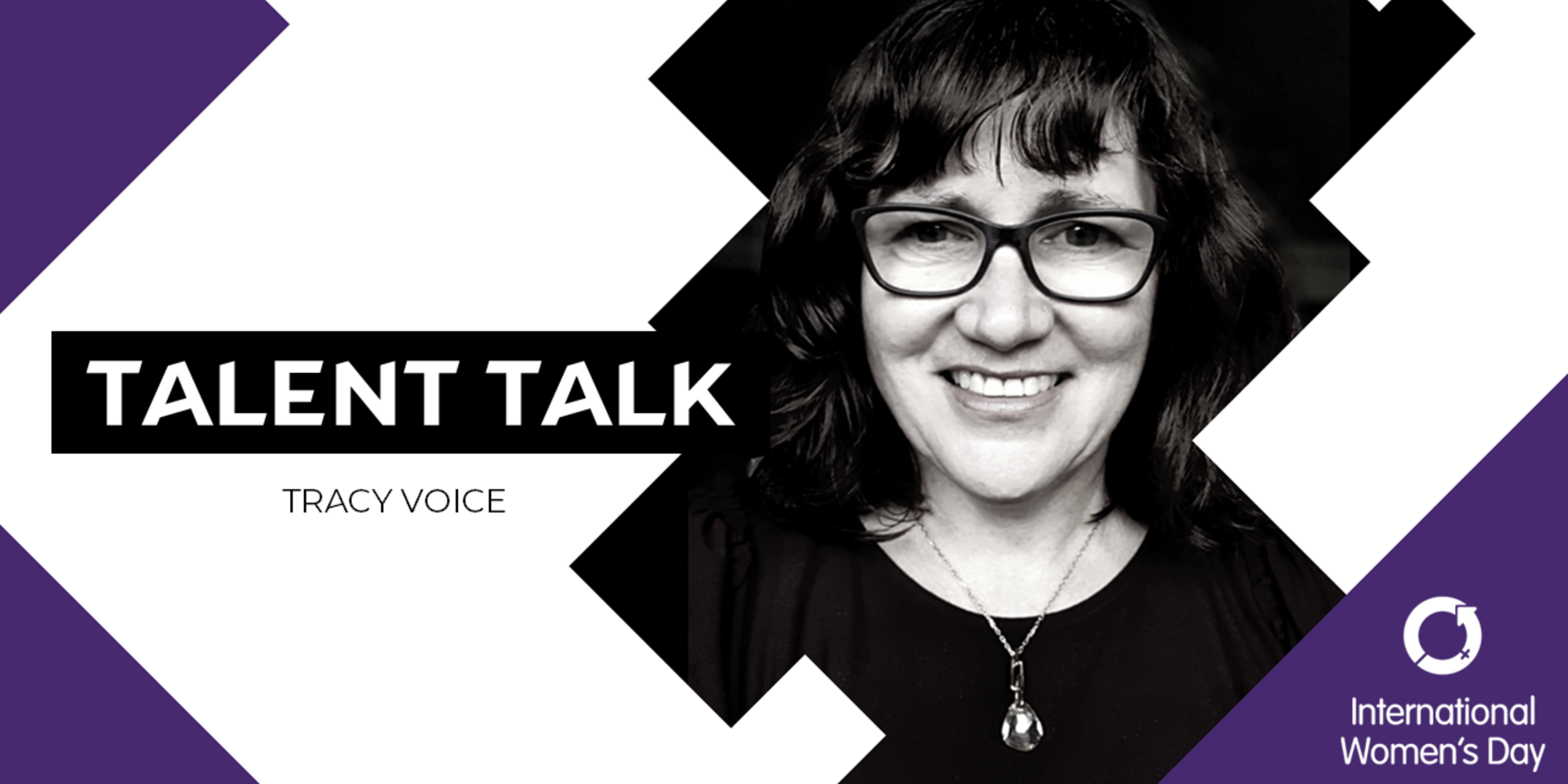 Tracy Voice for Talent's International Women's Day Talent Talk